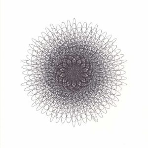 14 Point Spiral Starburst ©Mary Wagner