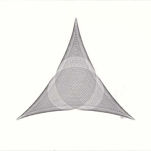 Triangle Drawing ©Mary Wagner