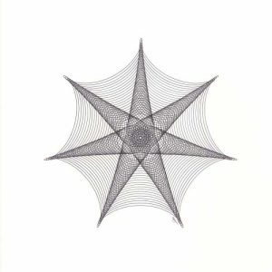 Spider Web or 7-point Star © Copyright Mary Wagner
