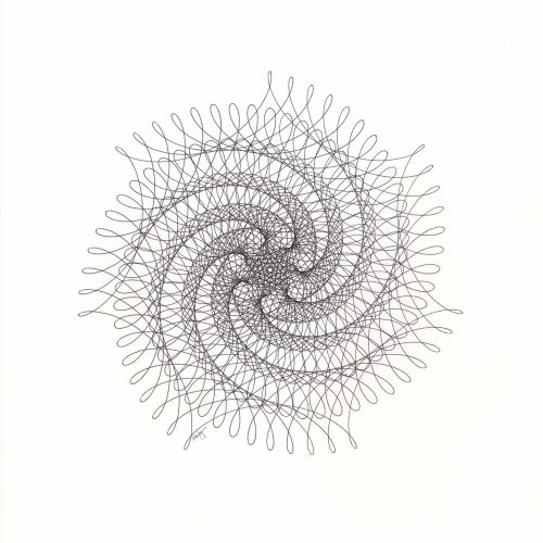 7-Point Spiral Star © Copyright Mary Wagner