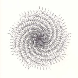 9-Point Spiral Star © Copyright Mary Wagner