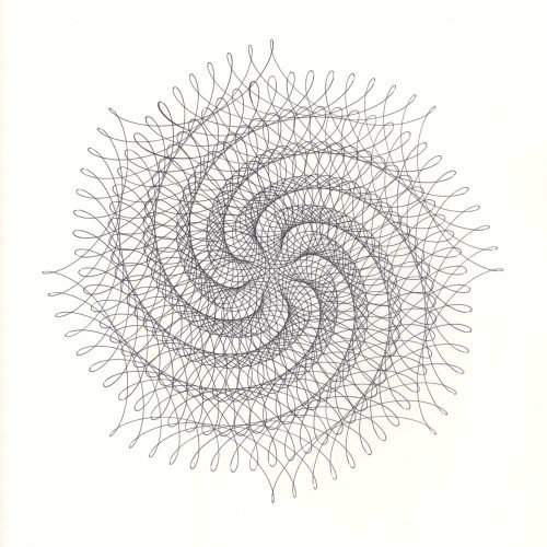 8-Point Spiral Star © Copyright Mary Wagner