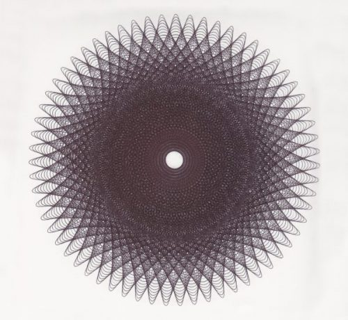 Parametric Drawing with Dong-A Anyball 1.4 mm ©Mary Wagner