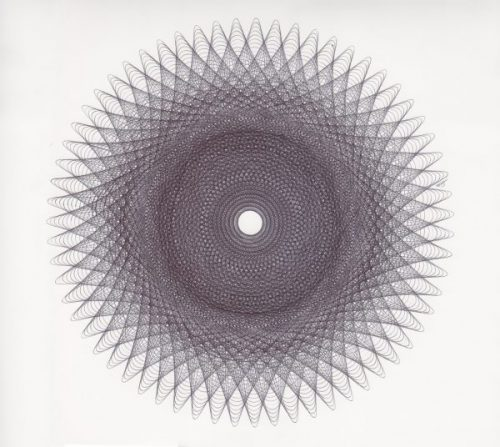 Parametric drawings done with Schneider 775 fine ballpoint. ©Mary Wagner