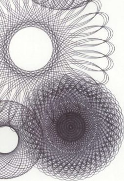 Anomaly parametric drawings. © Copyright Mary Wagner