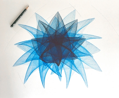 """Blue Flutter"" ©Copyright Mary Wagner www.marywagner.com"
