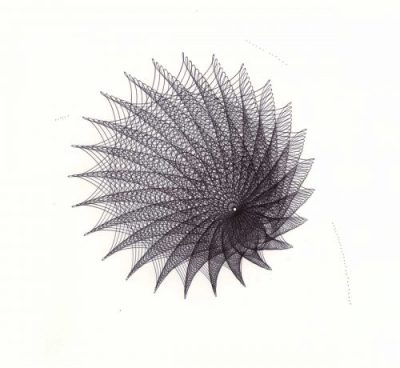 """Black Hole #1"" © Copyright Mary Wagner"