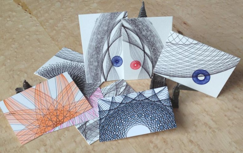 A selection of ACEO original artwork on my shop.