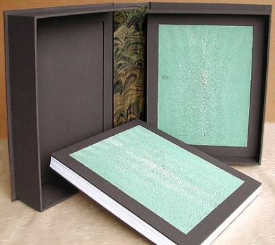 Two Books in a Clamshell Box