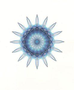 Blue Supernova copyright Mary Wagner