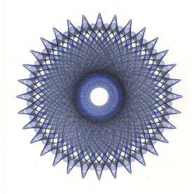 Untitled Blue Figure